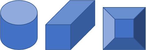 立体図形の変形例
