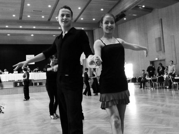 Timo Strasser und Tatjana Thanhäuser
