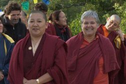 With Khandro Rinpoche