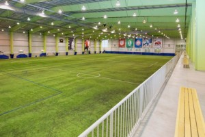 The indoor fieldhouse, part of the Hershey Centre's SportZone