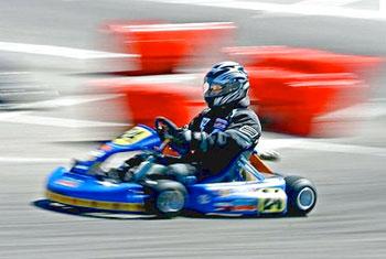 Get the adrenaline racing at NASCAR Speedpark