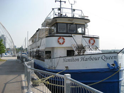 Take a cruise on the Hamilton Harbour Queen