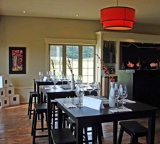 Tasting and event room at Ridge Road Estates Winery