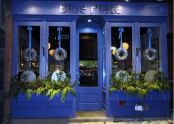 Blue Plate is a local source for upscale comfort food dining