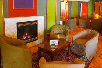 Bright and cheery does it at Zazou Lounge