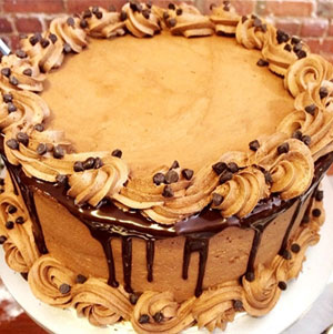A gluten-free triple chocolate cake from Bunner's Bake Shop