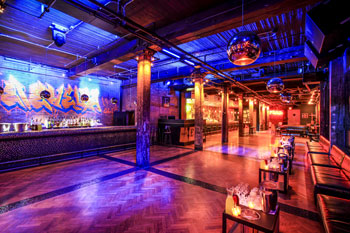 Warm wood and vintage accents set the tone for The Everleigh