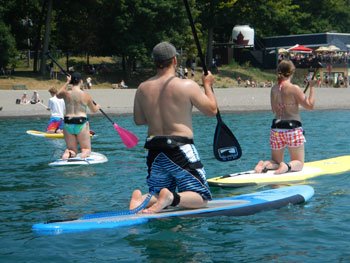 Board the waters with SUPSurf