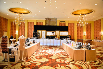 Silent auction at the Book Lover's Ball 2014