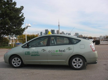 Eco-Taxi is available in Toronto