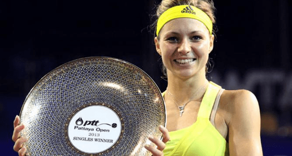 Maria Kirilenko beats Sabine Lisicki in PTT Pattaya Open 2013