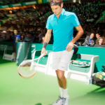 Roger Federer ousted by Julien Benneteau at the ABN AMRO WTT in Rotterdam 2013