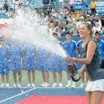 vika, 'encouraged' by serena, celebrates cincy with champers