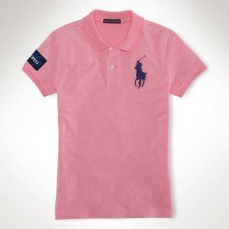 Ralph Lauren U.S. Open 2013 - Women's Pink Polo