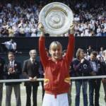 Martina Navratilova earns more than $1 million in prize money in one season