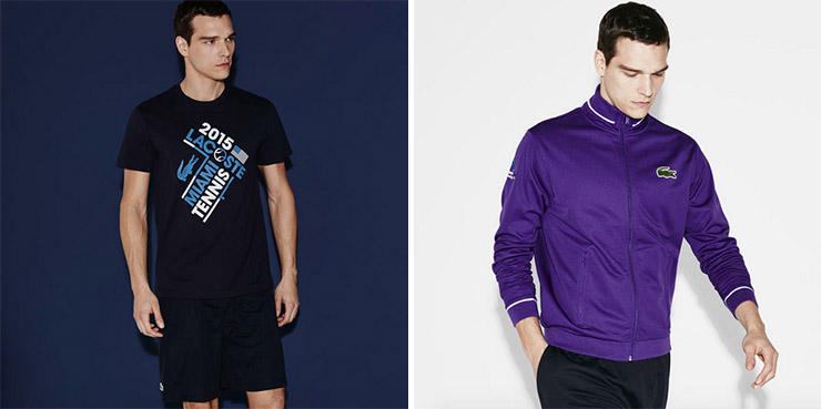 MEN'S TENNIS GRAPHIC T-SHIRT & MIAMI OPEN MEN'S TRACK JACKET