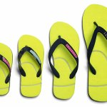 chesters: tennis ball flip flops