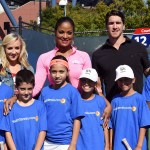 usta hosts youth tennis exhibition to empower future generations