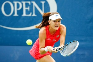 Agnieszka Radwanska at the 2015 US Open