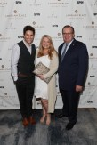 """NEW YORK, NY - AUGUST 27: (L-R) Chris Reed, Pamela Feick and Richard Bussiere attend """"An Evening With Andy Murray"""" event at Langham Place on August 27, 2016 in New York City. (Photo by Rob Kim/Getty Images for Langham Place, New York)"""