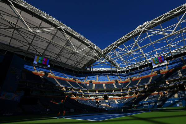 Arthur Ashe Stadium retractable roof