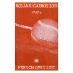 roland garros player towels 2017