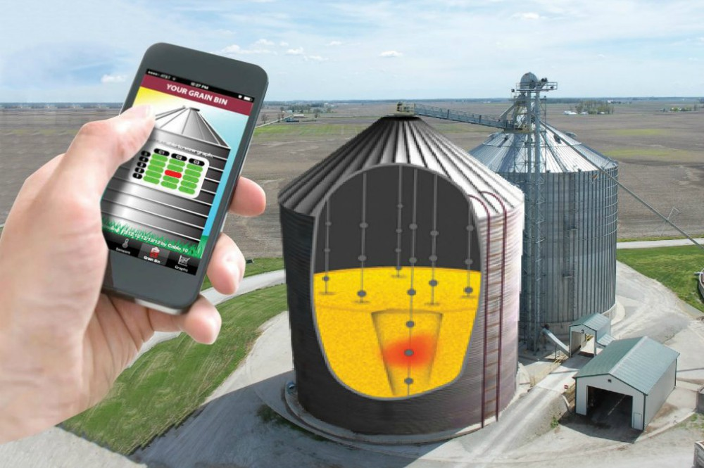 Why Monitor Grain Temperature Remotely? It's Easy.