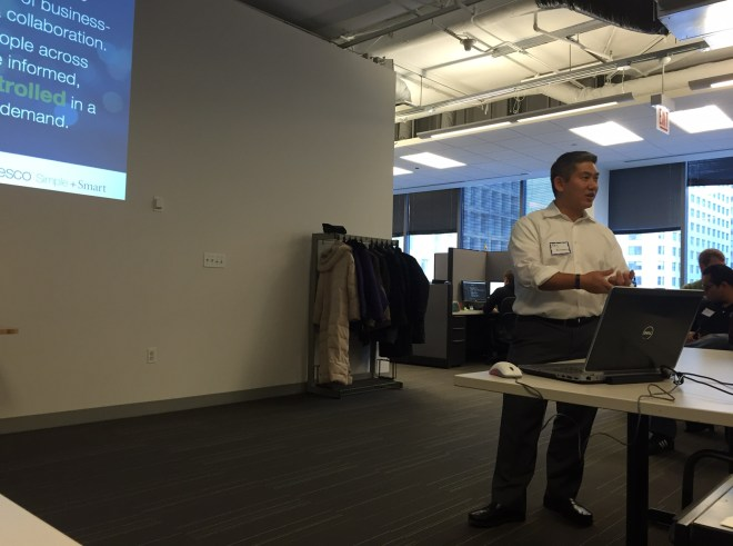 Ray at Alfresco Lunch & Learn