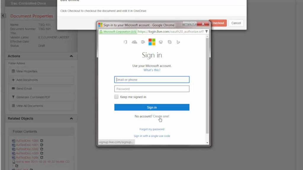 Office 365 – Check-in and Check-out with Documentum