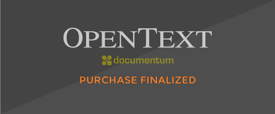 Documentum purchase by OpenText finalized – Detailed Analysis and Predictions