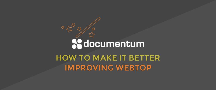 Improving Webtop