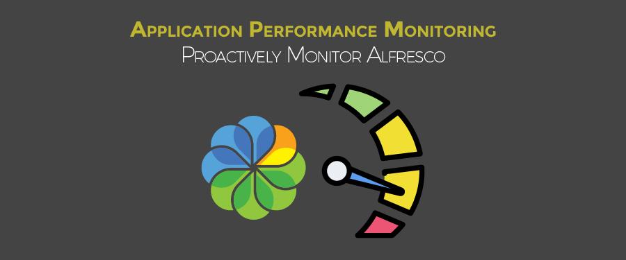 alfresco performance monitoring
