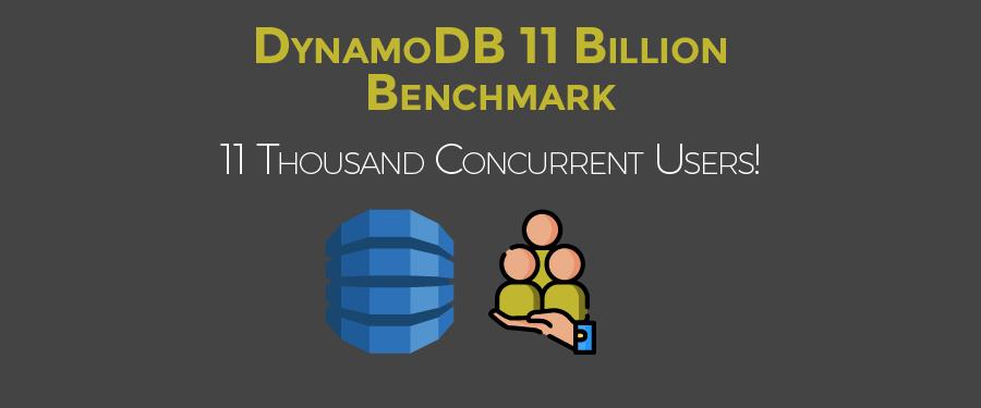 DynamoDB 11 Billion Benchmark - Concurrent Users