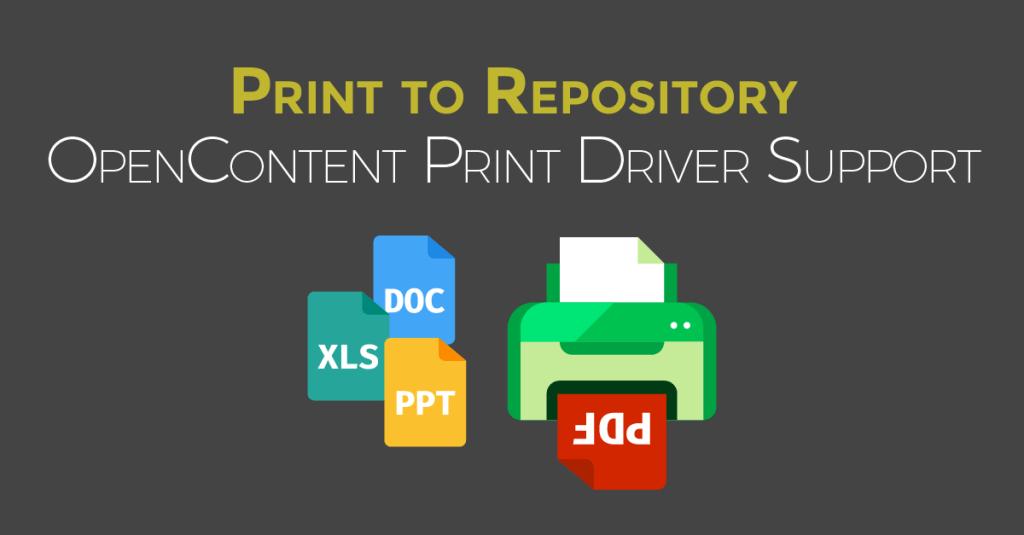 Print-to-repo