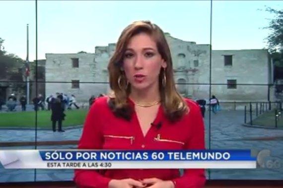 Telemundo San Antonio News Room Displays Tsgsan