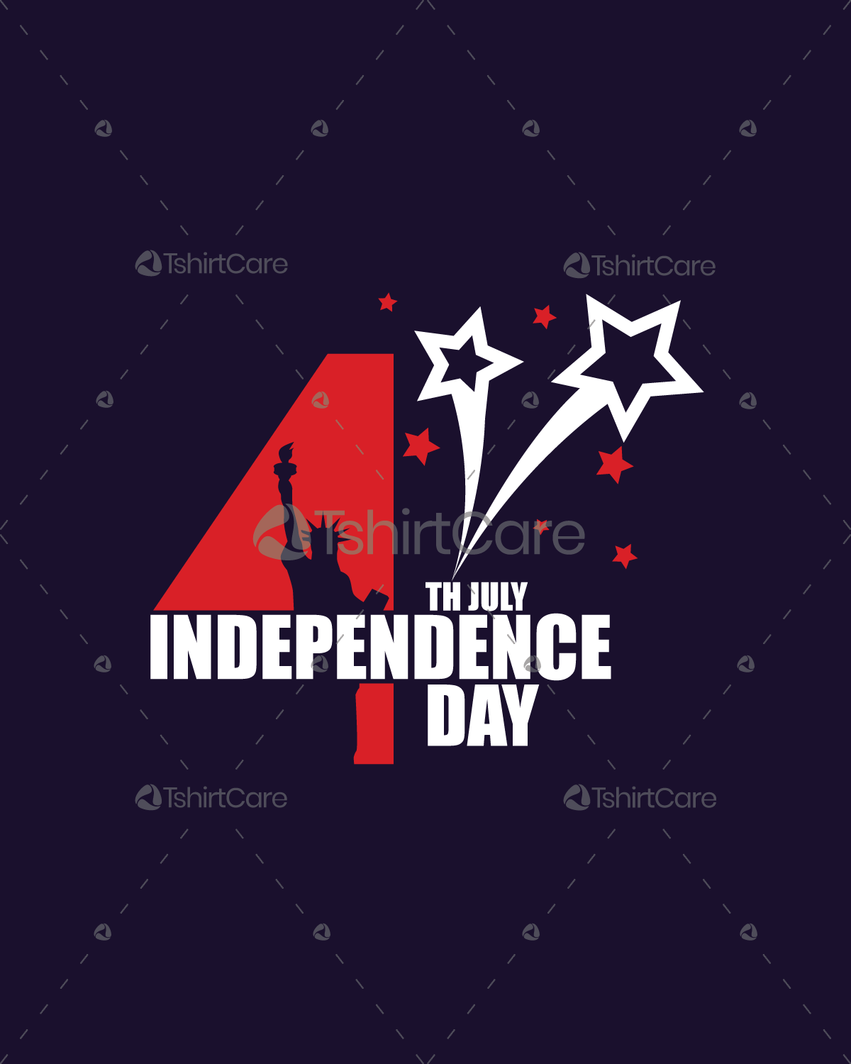 Celebration Of Usa Independence Day T Shirt Design For Event Boys