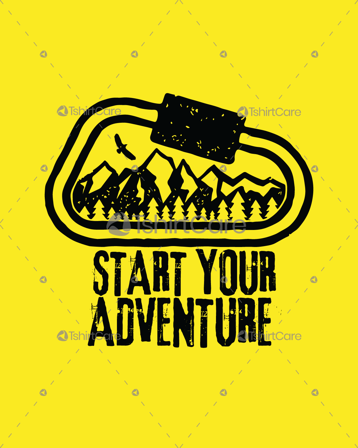 2ecebb0307 Start your adventure with mountain forest T Shirt Design Adventure Clothing  Hiking Gifts
