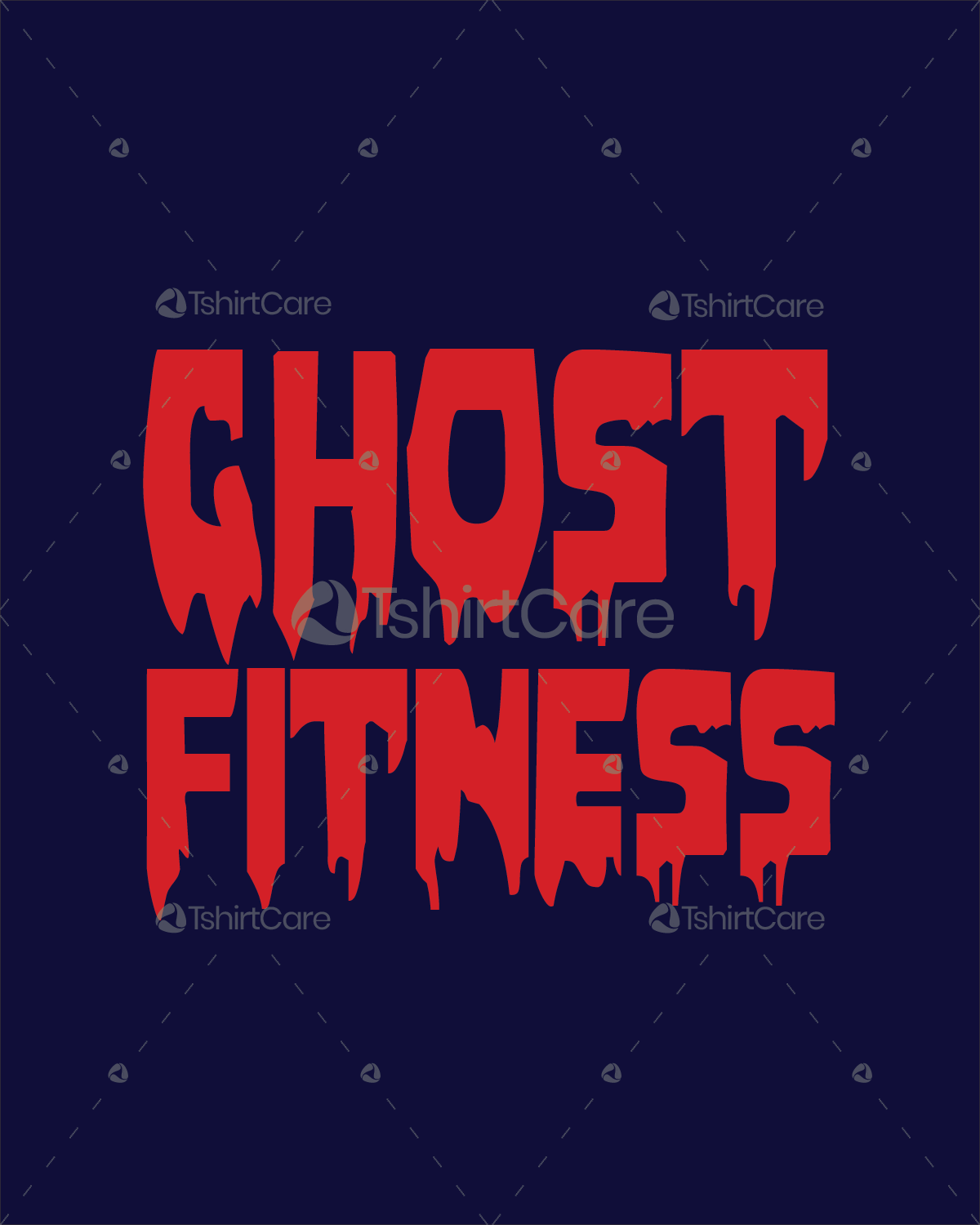 Ghost fitness T shirt Design Ghost Gym  for Ghost Bodybuilder Logo  535wja