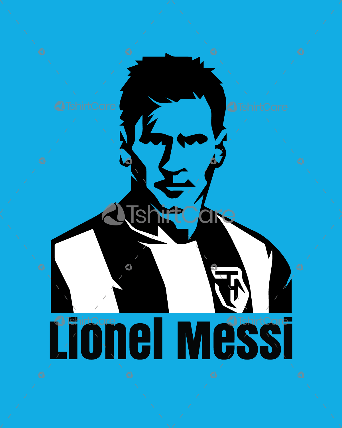 ca2bb3f6e0a Lionel messi face T shirt   Jersey Design for Argentina   Barcelona Sports  Fan ...