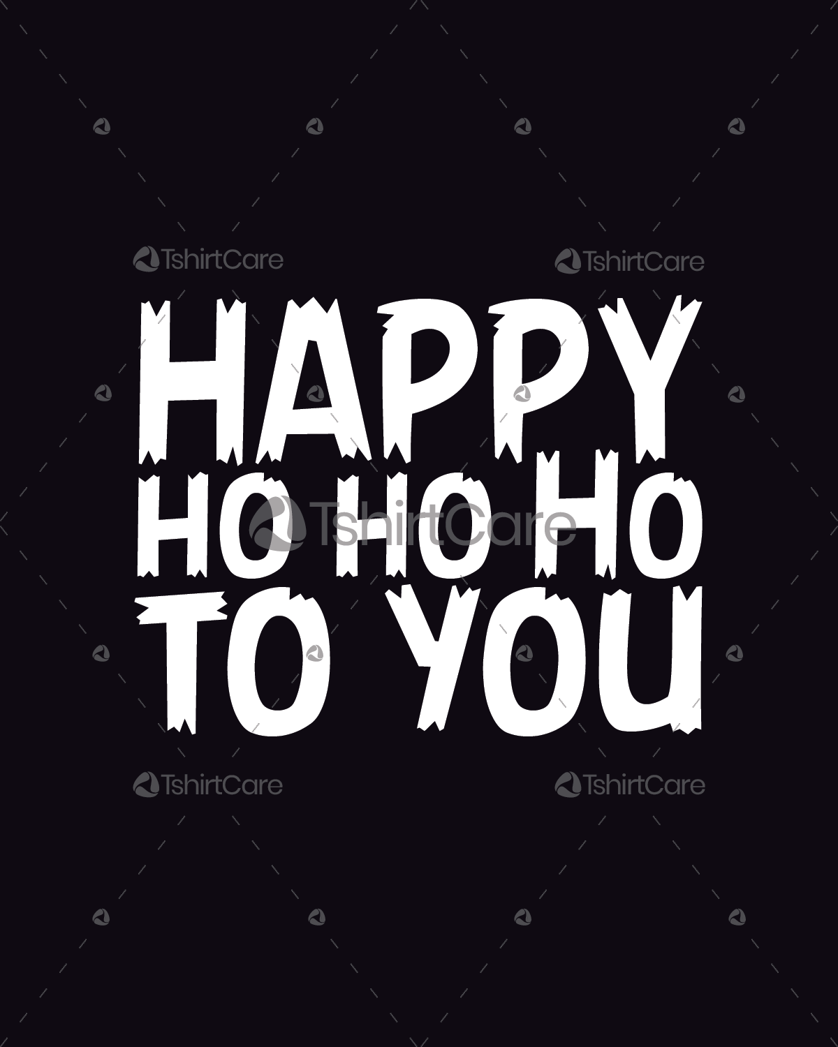 0d7035d1c4fb07 Happy ho ho ho to you T shirt Design Happy Holidays T-Shirts for ...