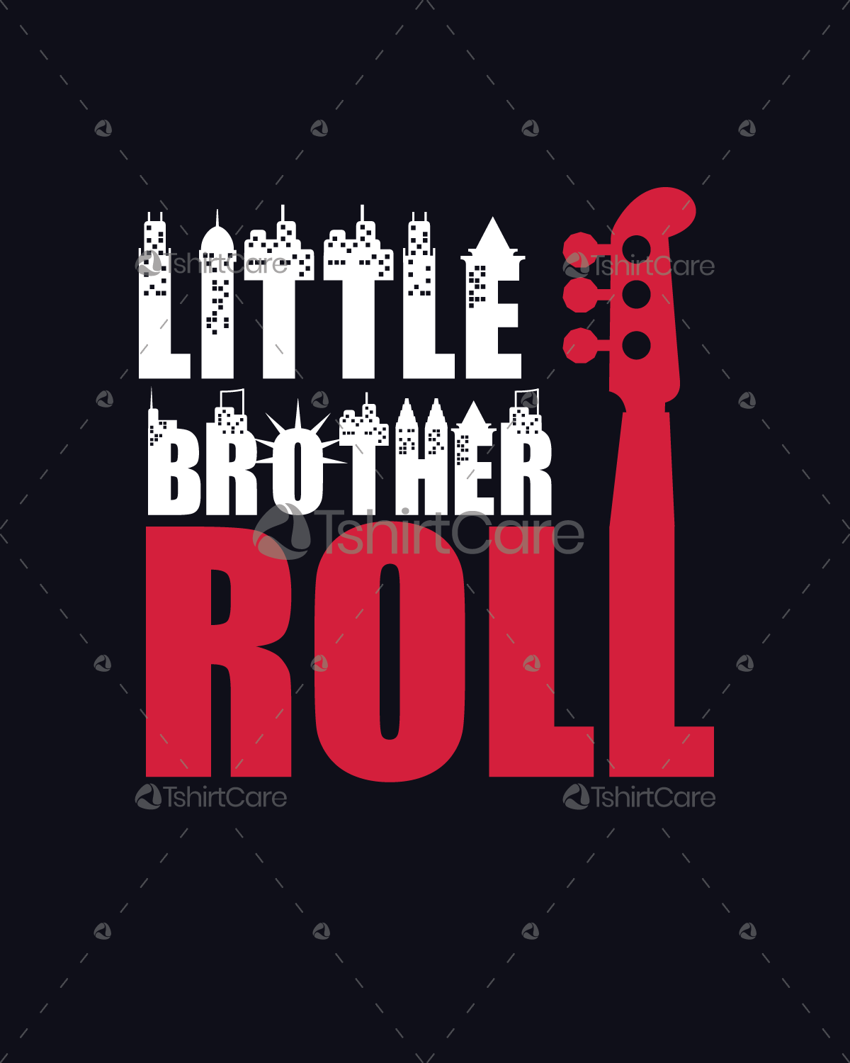 Big Brothers Rock Little Brothers Roll T Shirts Design Set Of 2