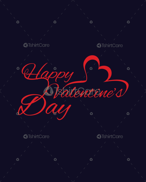 Valentine T shirts Design for couples gift