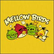 mellow birds angry birds parody spoof shirts