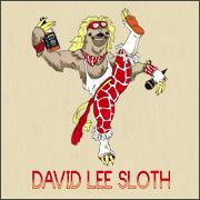 David lee roth sloth parody spoof shirts