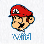 wii super mario weed parody spoof shirts