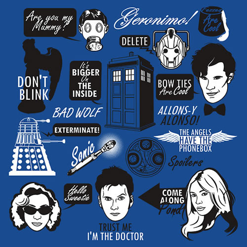 Allons Y Doctor Who Quotes