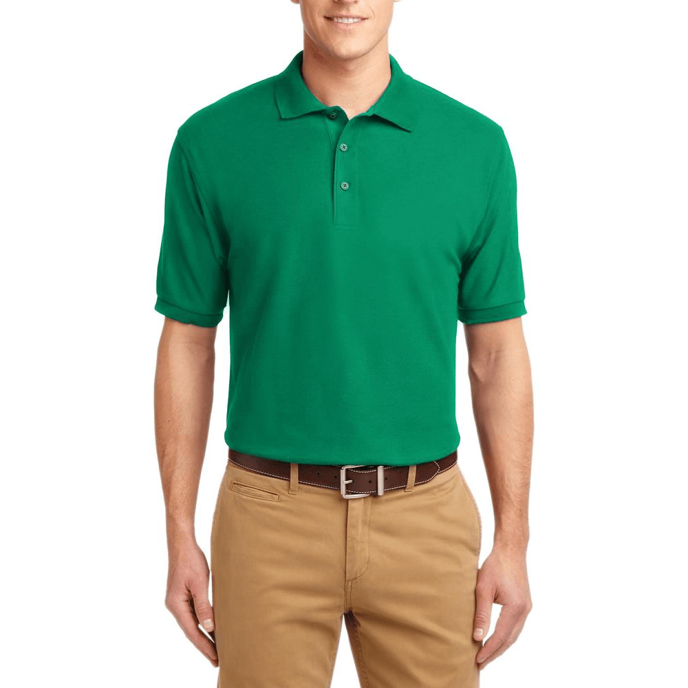 Short Sleeve Polo Shirt Emerald Green