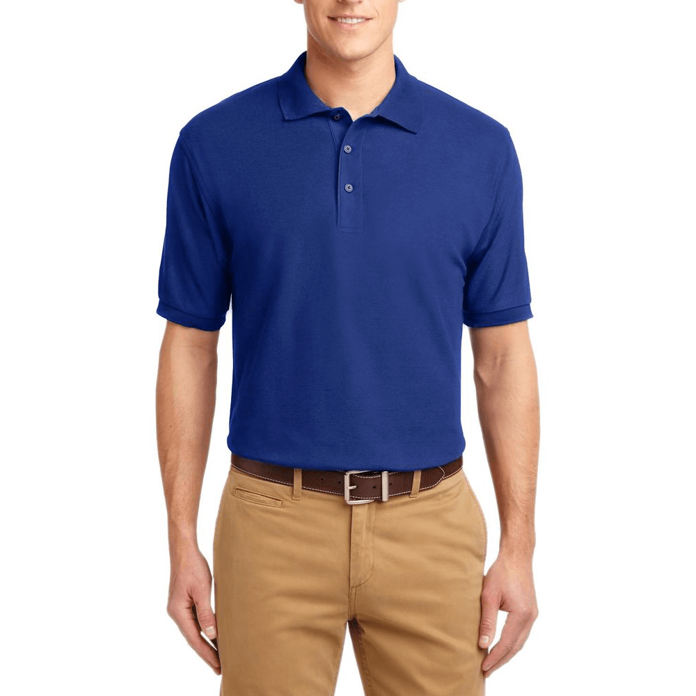 Short Sleeve Polo Shirt Royal Blue