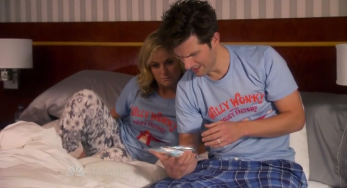 Parks and Recreation: Willy Wonky and the Policy Factory