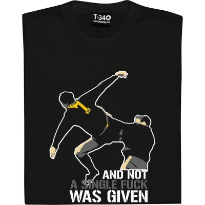 Ronaldo was doubtful about wearing the number 7 shirt because he thought it would be too much pressure on him as the number 7 shirt was worn by legends like johnny berry, eric cantona and david beckham. And Not A Single Fuck Was Given Uncensored T Shirt Tshirtsunited